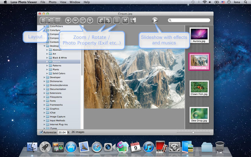 Lona Photo Viewer 2.2.10 Multilingual Retail MacOSX